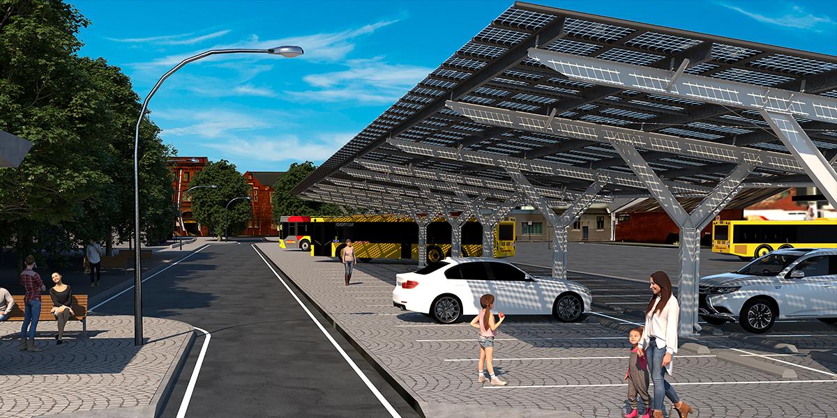 PVDynamics carport waterproof solar