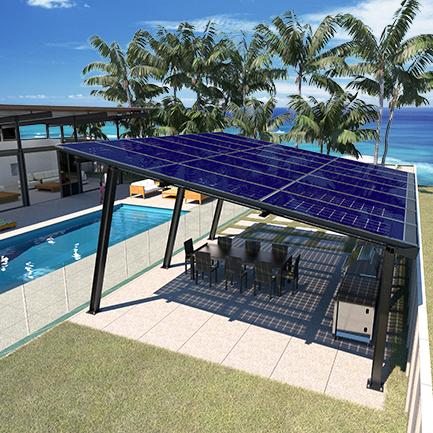 Residential Solar Pergola